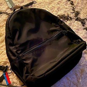 NWT Steve Madden Black Nylon Backpack